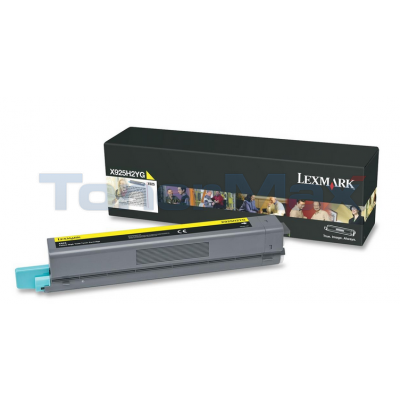 LEXMARK X925 TONER CART YELLOW 7.5K